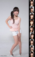 Foto Biodata Cherly Cherry Belle
