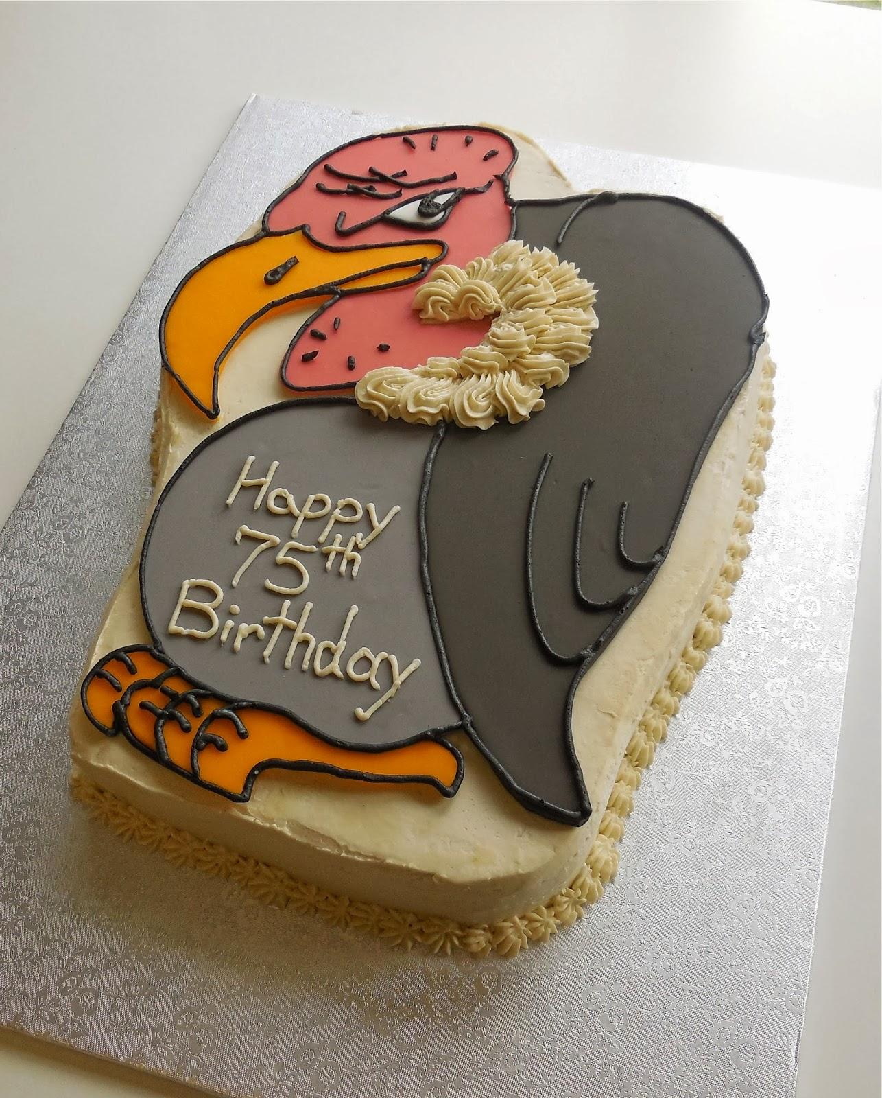 Custom Cakes By Lori A Buzzard Cake For A 75th Birthday