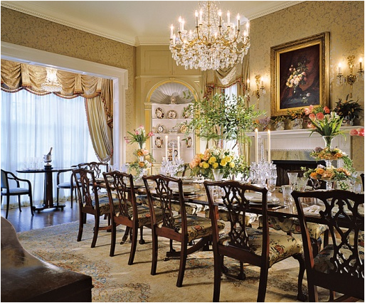 English country dining room design ideas room design ideas for Country kitchen dining room ideas