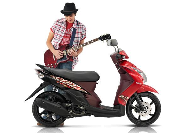 Modifikasi Motor Mio Soul Thailand