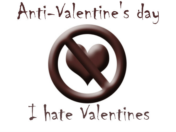 Creative Anti Valentine S Day I Hate Valentine Facebook Timeline