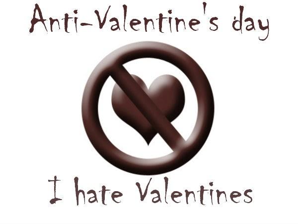 creative anti valentines day i hate valentine facebook