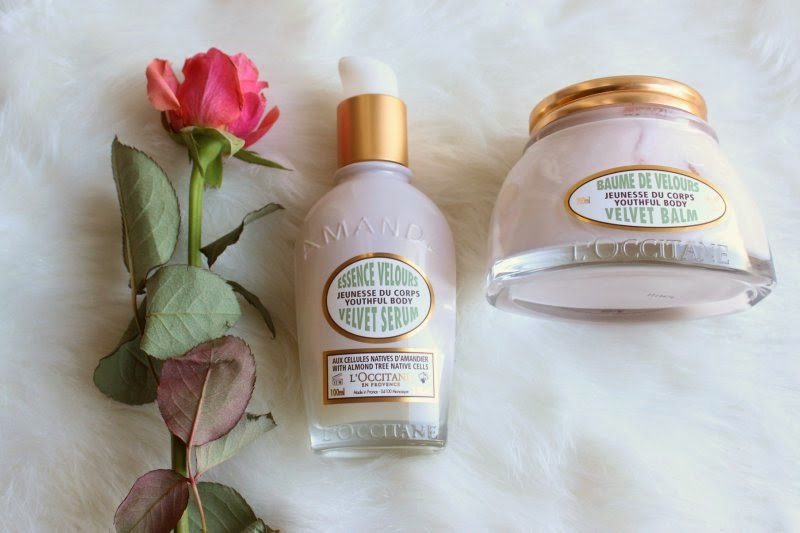 L'Occitane Almond Youthful Velvet Anti-Ageing Body Care Collection