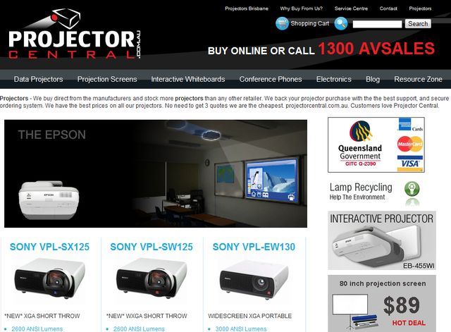Projector Central - Data Video Projectors