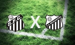 Santos x Bragantino