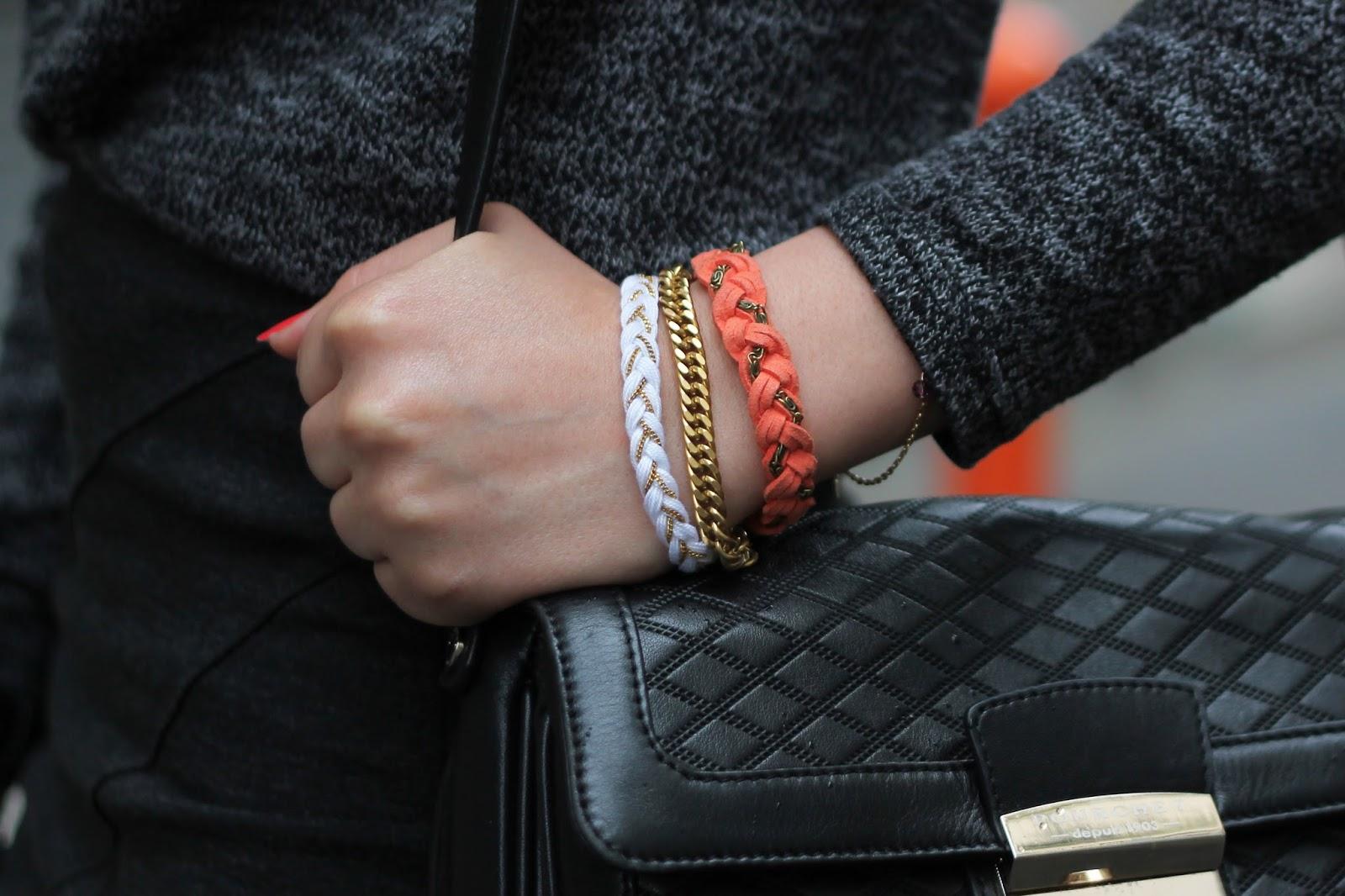 Bracelets tressé chaîne