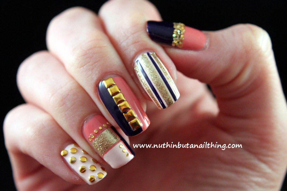 Displaying (19) Gallery Images For Round Nails Designs...