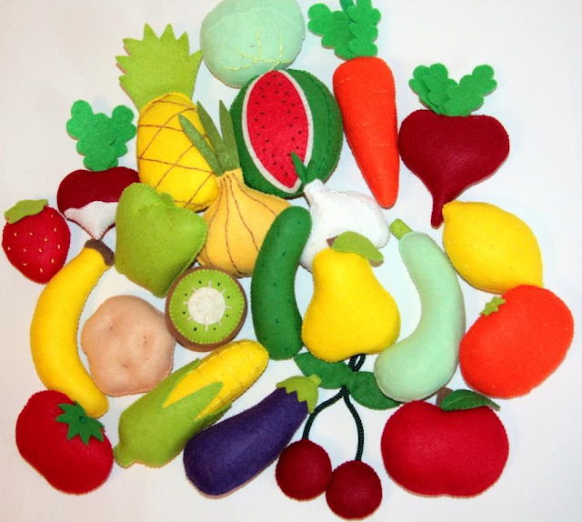 Овощи из пенопласта своими руками 207