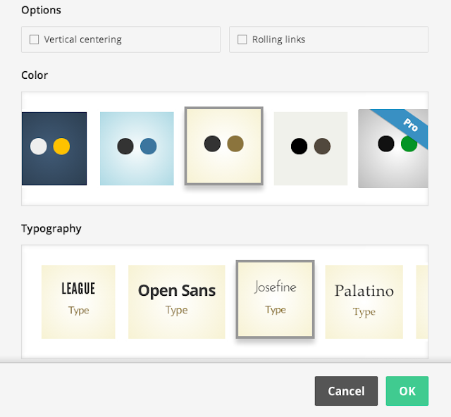 Slides 所提供的配色主題