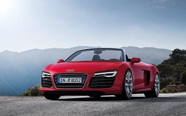 Foto del Audi R8 V10 Spyder 2013 imágenes de carros