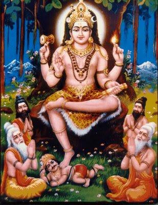 ஜோதிடத்தில் குரு பகவான்   Sri+Dakshinamurthy+