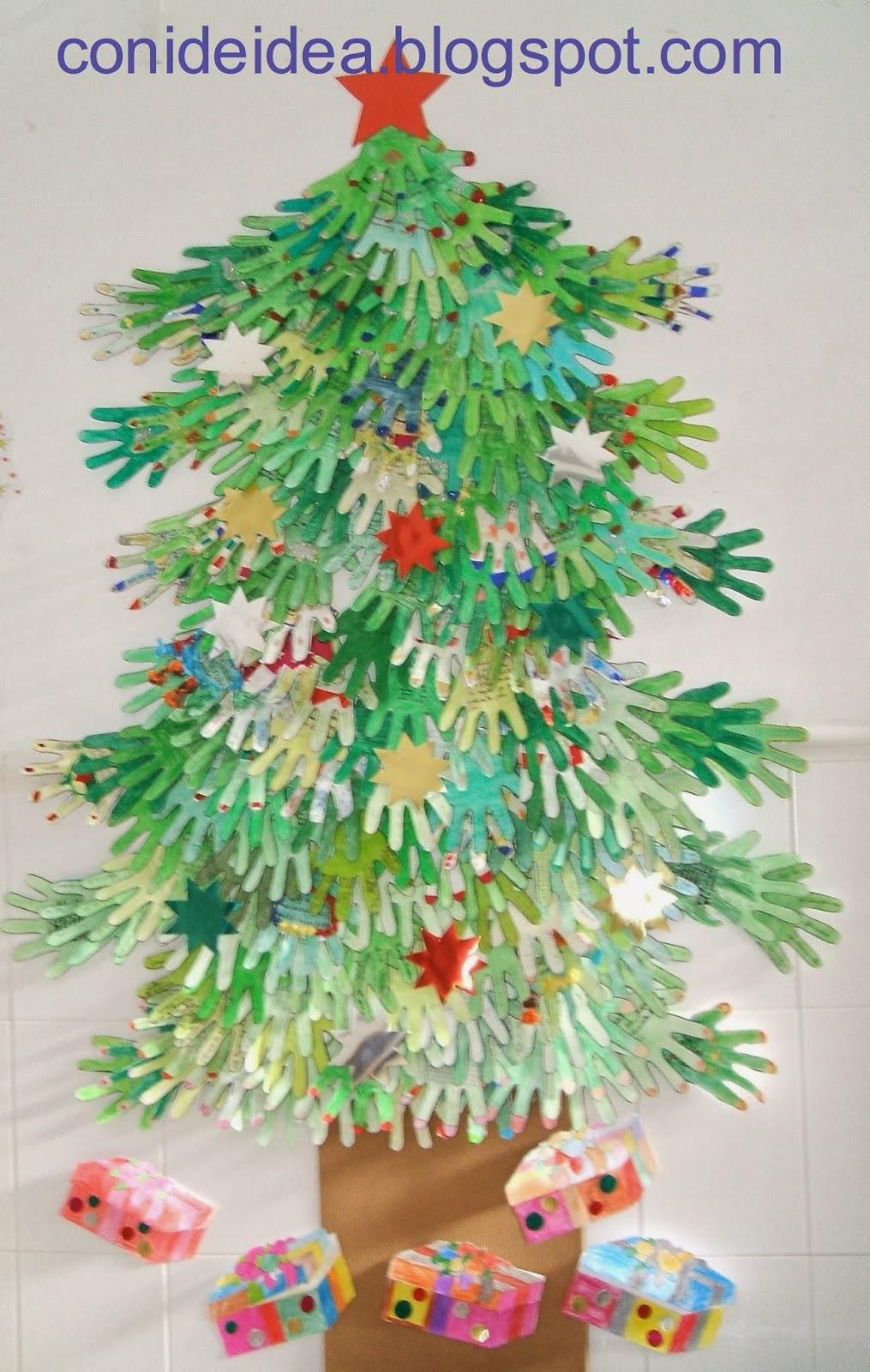 Manualidades Foto Para Decorar El Arbol De Navidad