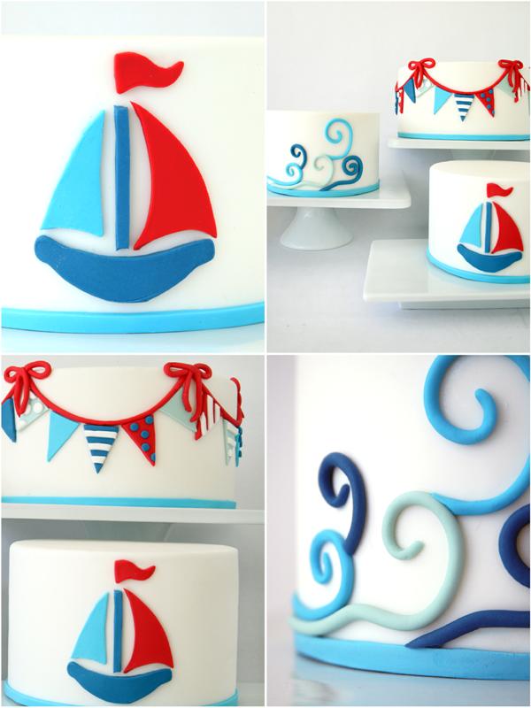 Nautical party decor diy nautical cake decorating