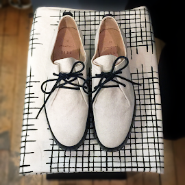 Light on your Feit cloth sneakers at Robin Richman.