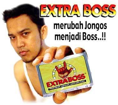 Gambar Lucu Iklan Extra Boss  Foto dan Gambar Lucu