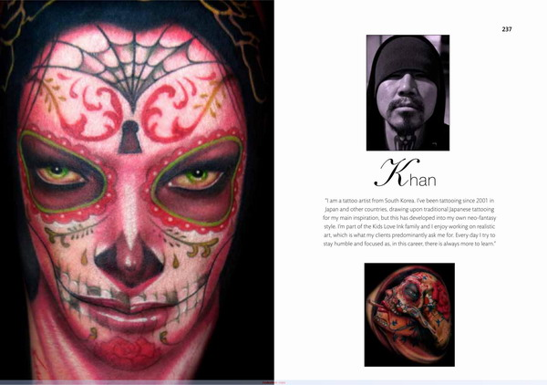 Khan tattoo gold coast brisbane australia the mammoth for The mammoth book of tattoos