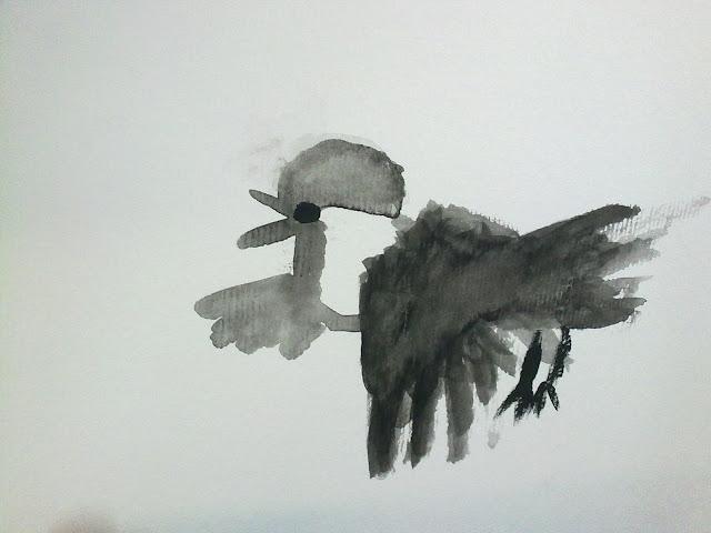 pajaro pintado por Teo
