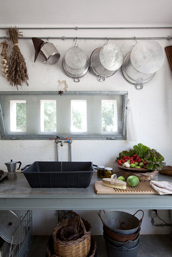 Lovely LOVE OR NOT Industrial kitchens Image via Corriere Living