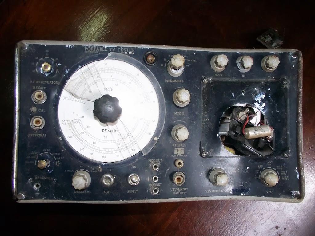 Portable TV Tester TR-0809