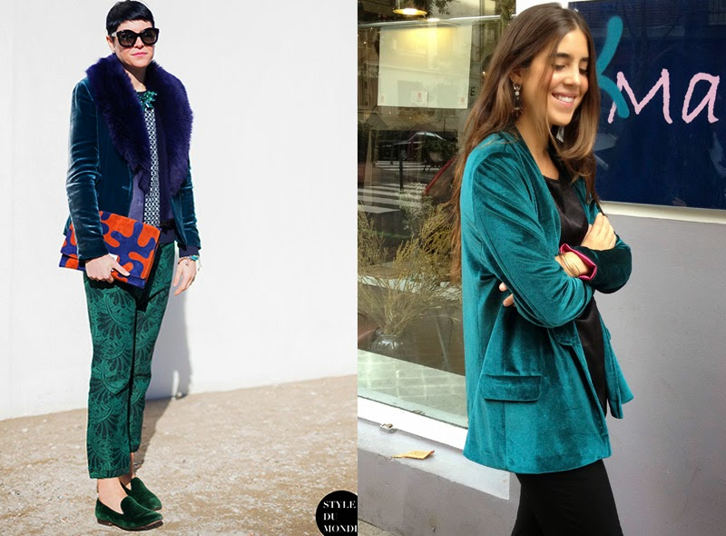 Velvet Jacket by Ninasvintage