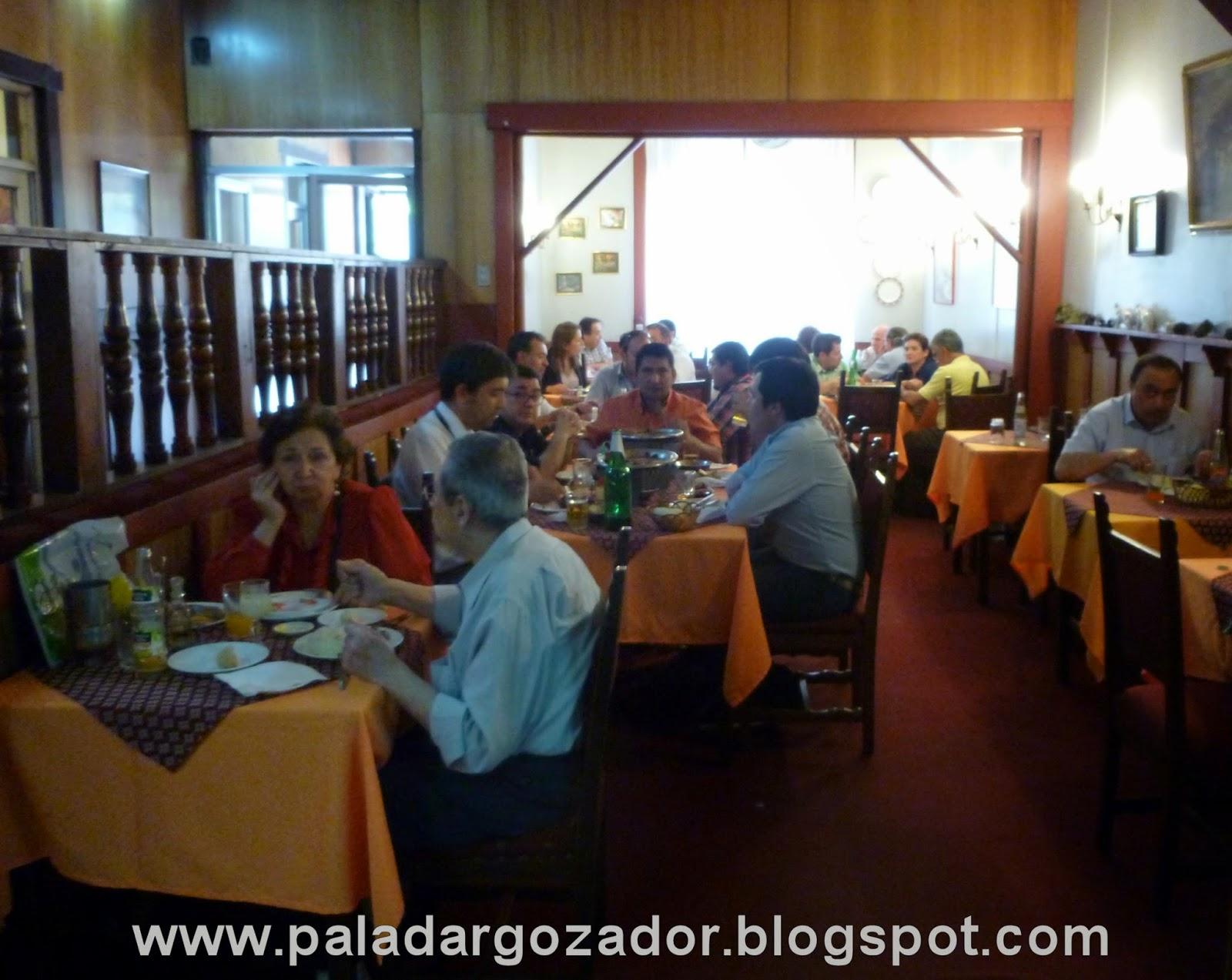 Comedor restaurante El Cordobés Santiago