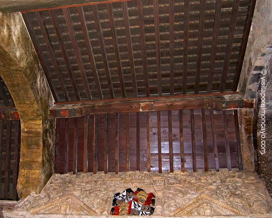 Iglesia Santa María Magdalena Tarazona Techumbre Mudéjar Aragonés