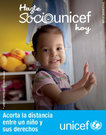 Hazte socio de UNICEF - Become a member of UNICEF