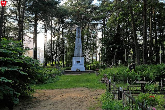 Барановичи. Памятник жертвам эпидемий 1920-23 годов