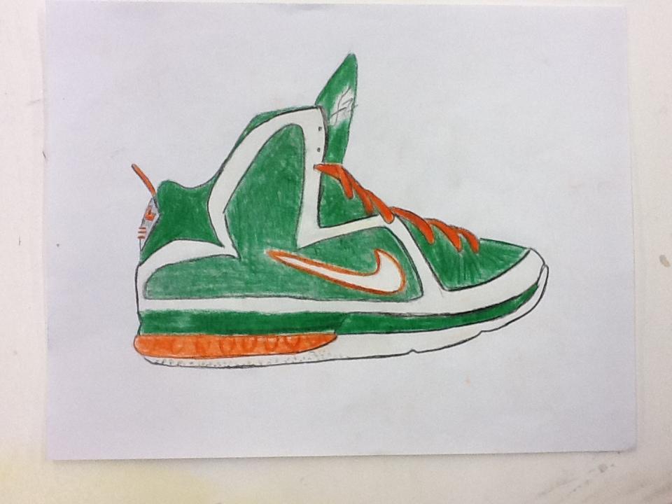 shoe drawings of lebrons wwwimgkidcom the image kid