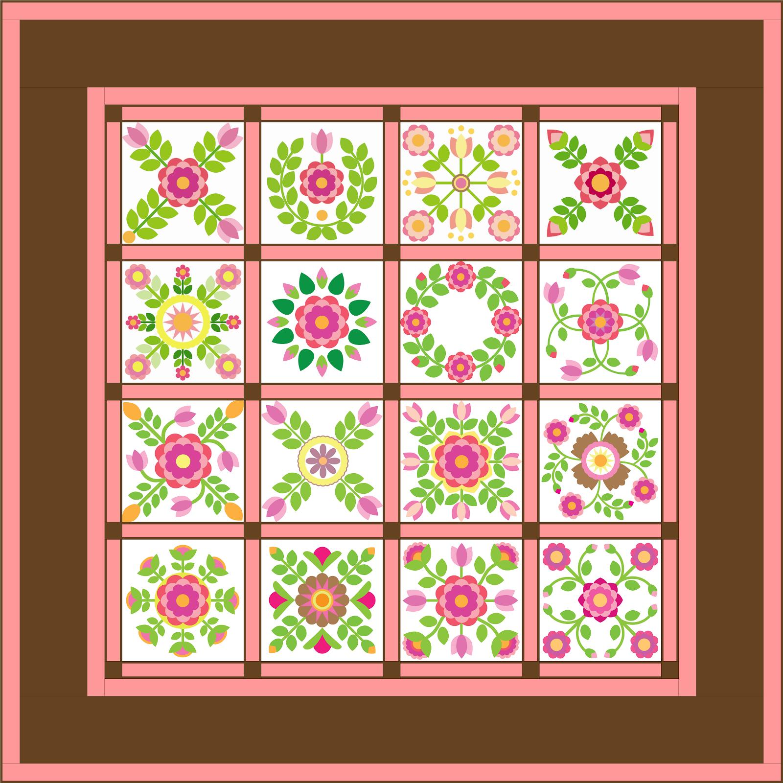 2014 BOM - Sycamore Rose