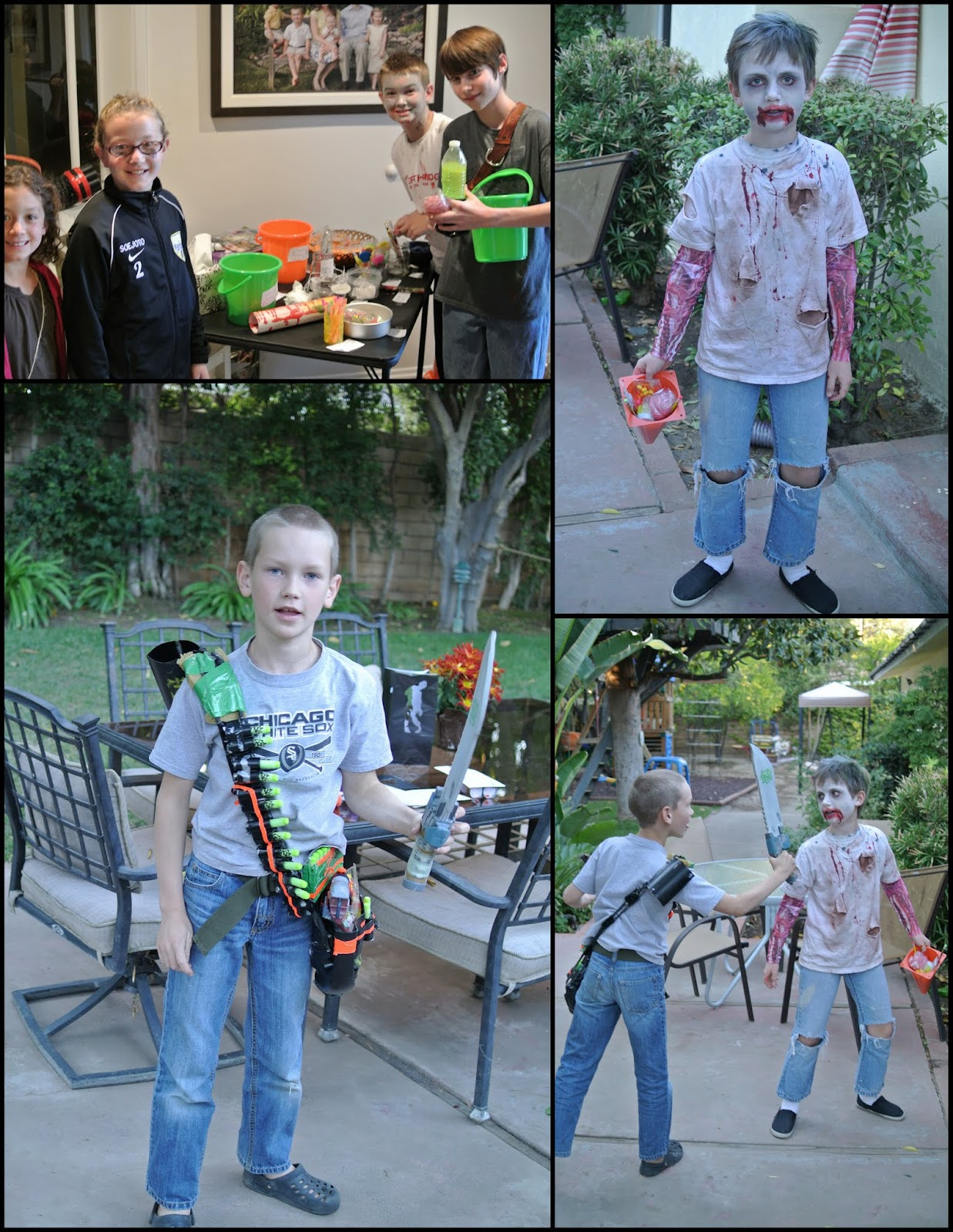 Catholic All Year A Zombie Apocalypse Birthday Party at which I
