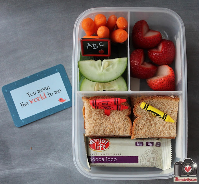 First Day of School bento lunchbox - www.mamabelly.com
