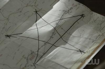 2x22 - All Hell Breaks Loose: Part Two pentagram map