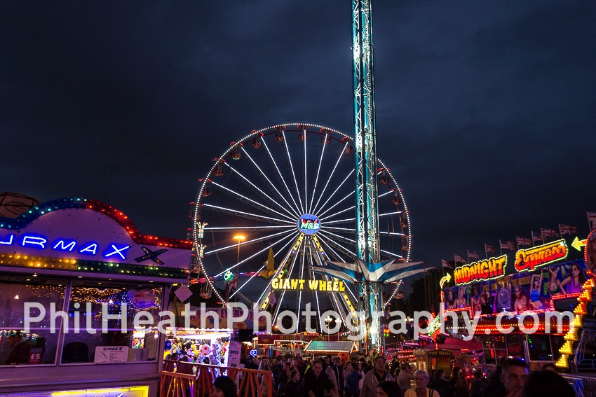 Nottingham goose fair 2014 wednesday 1st october part 12 of 14