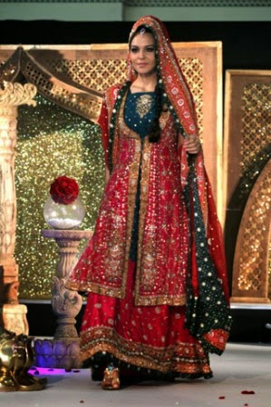Pakistani bridal dresses Latest