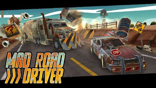 Screenshots of the Mad road driver for Android tablet, phone.