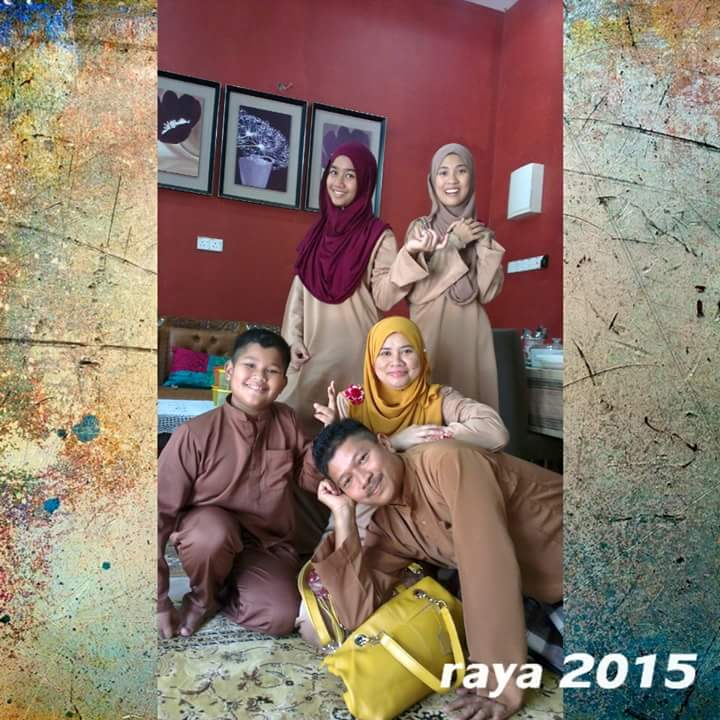 My hepi famili