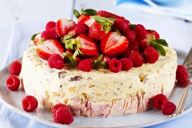 Berry Ice Cream Cake Recipe Berry Ice-cream Cake