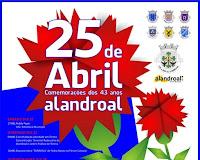 ALANDROAL FESTEJA O 25 DE ABRIL