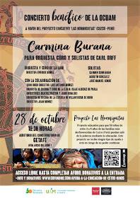 Concierto Benéfico Carmina Burana - Orquesta y Coro de la UAM