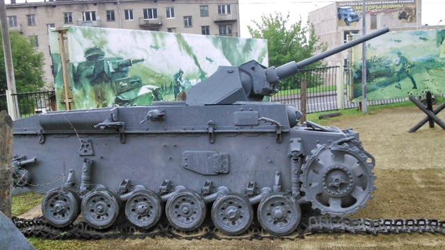 Restos de un PzKpfw III Ausf.L destruido