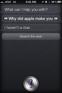 Siri: Why did Apple make you?