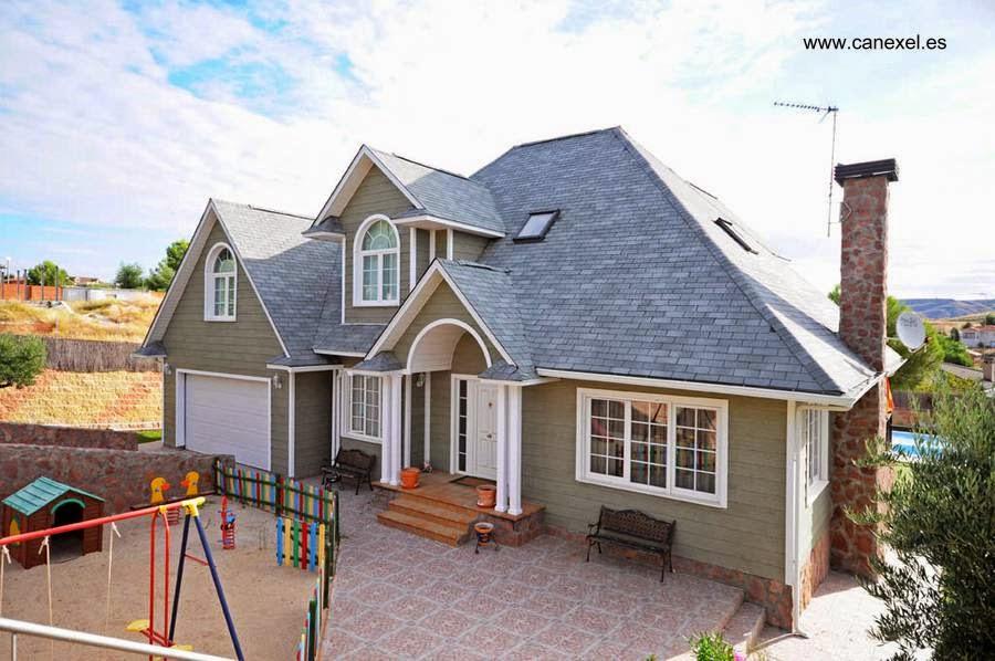 Arquitectura de casas las casas americanas modernas - Casas americanas espana ...