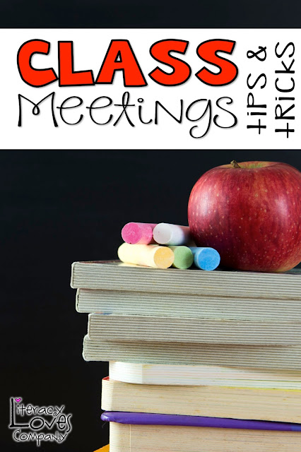 Are you holding class meetings in your elementary classroom?  Class meetings are a great way to build rapport with your students and improve classroom management.    From new teachers to seasoned professionals, this blog post has a little bit for everyone!