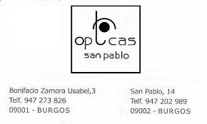 Opticas San Pablo