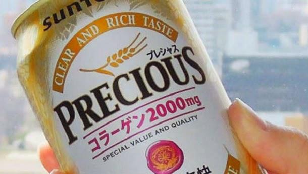 Japão lança cerveja com colagénio que embeleza