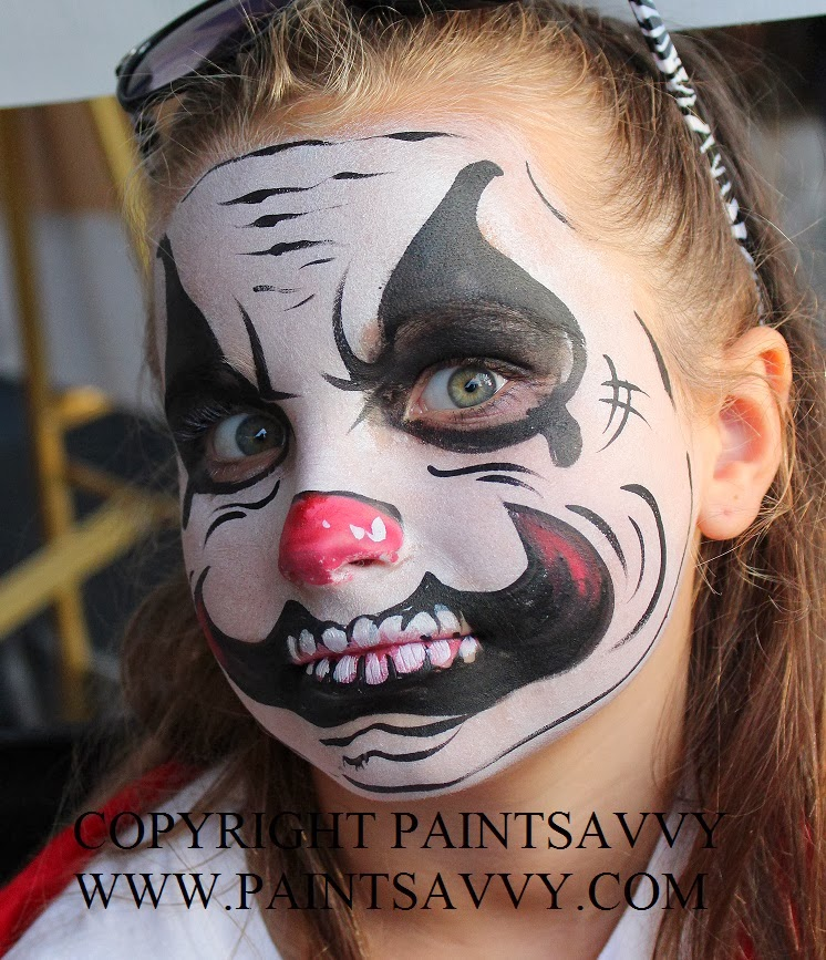 book a face painter for halloween nc