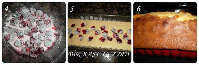 vişneli kek hazırlanışı