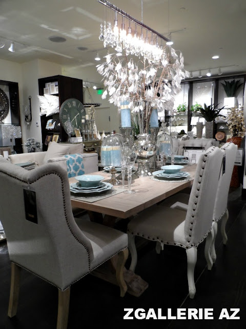 Focal point styling z gallerie scottsdale reopening for Dining room z gallerie