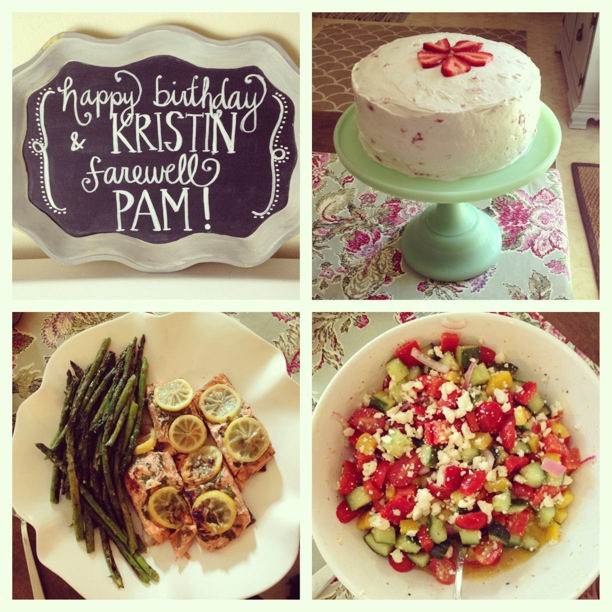 The Parkers Farewell Pam Happy Birthday Kristin